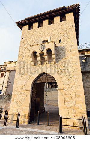 Old Gate In San Marino