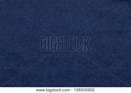 Blue jeans fabric made of raw denim textured background