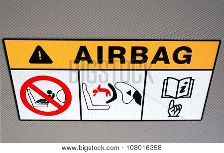 Airbag Instruction In The Vehicle
