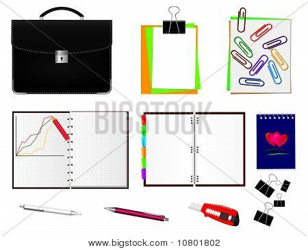 Set of items for the business