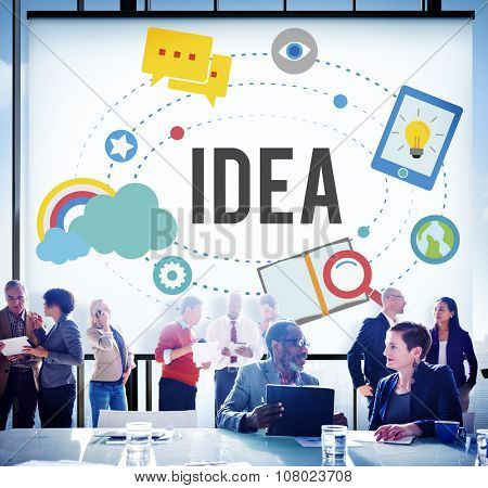 Idea Ideas Imagination Inspiration Objective Goals Concept