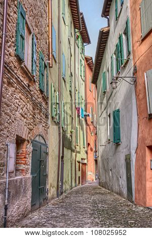 Old Alley In Brisighella, Emilia Romagna, Italy
