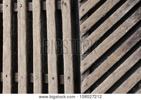 wooden walkways background