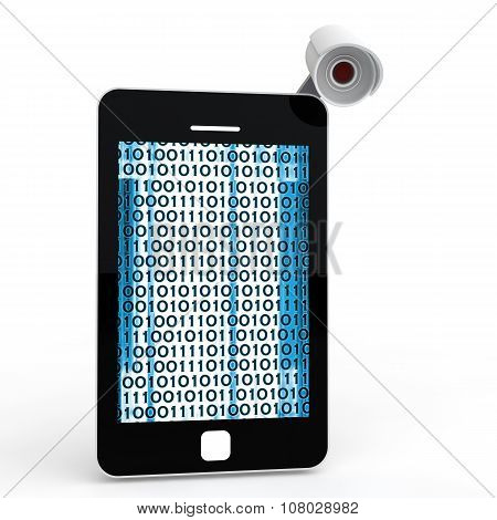3d mobile phone and cctv camera