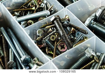Bolts and screws.