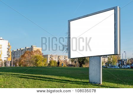 Blank Billboard Poster Background - Mock Up