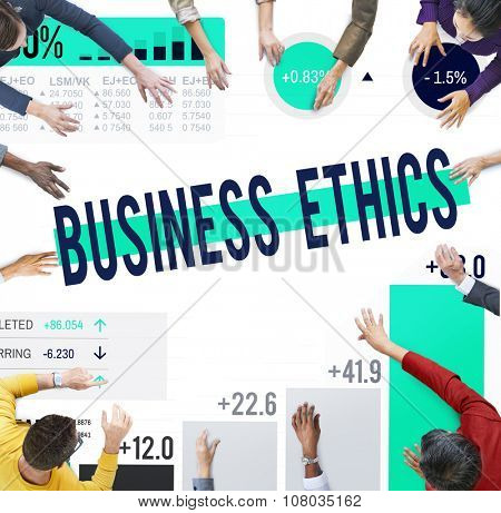 Business Ethics Integrity Moral Responsibility Concept
