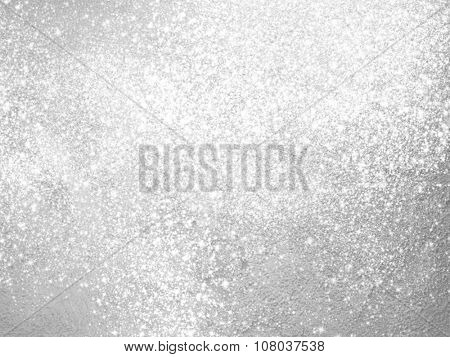 Silver sparkle background - abstract light grey design
