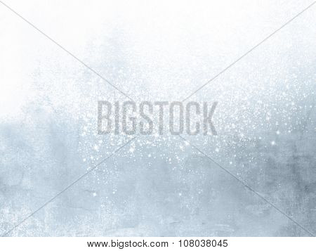 Abstract winter background light blue