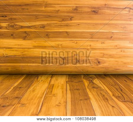 Space Perspective Wood Room For You Design.