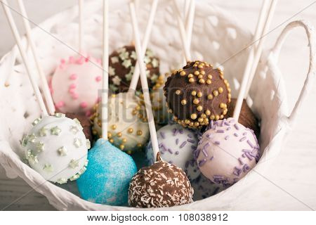 Batch Of Cake Pops