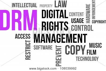 Word Cloud - Drm