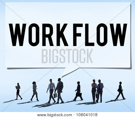 Work Flow Efficiency Implement Process System Concept