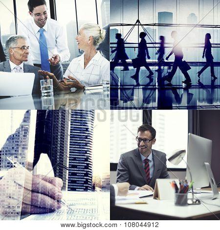 Business Corporate Team Collaboration Success Start Concept