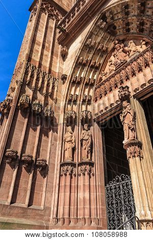 The Cathedral of Our Lady in Wetzlar at the Lahn, Germany