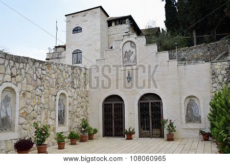 Visitation Church Patio, Jerusalem