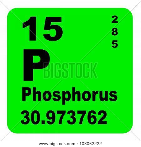 Phosphorus Periodic Table of Elements