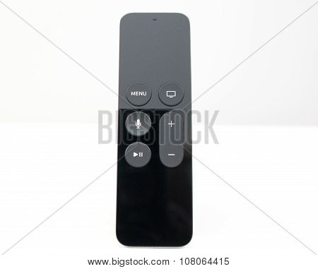 New Apple TV media touch remote