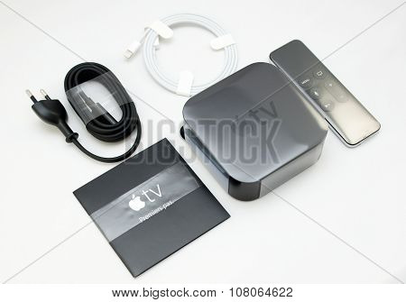 New Apple Tv Media Streaming Player Microconsole