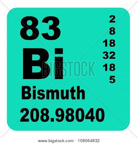 Bismuth periodic table of elements