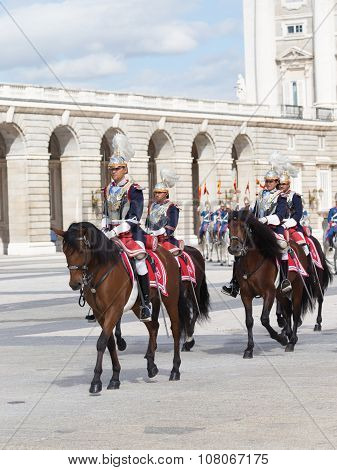 Armed With Horse Riders, Madrid