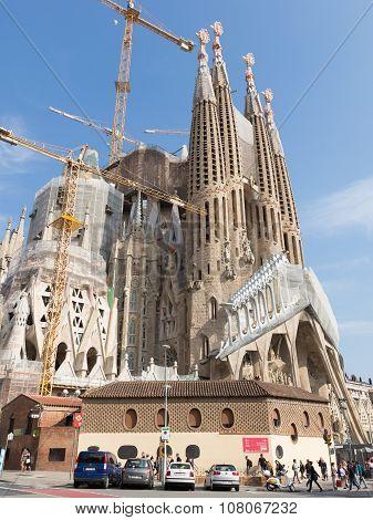 Sagrada Familia In October 2015