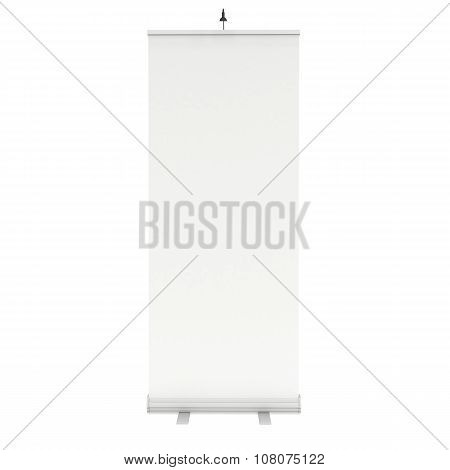 Blank Roll Up Banner Stand