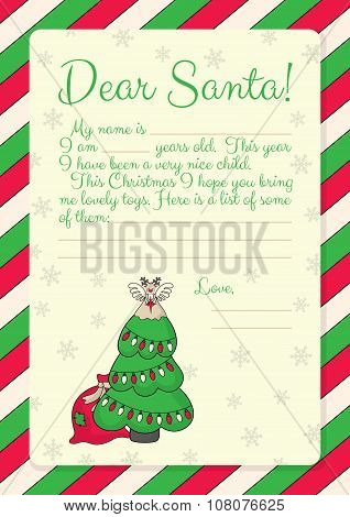 27_letter To Santa_christmas Tree