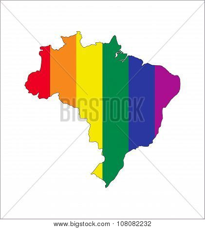 Brazil Gay Map