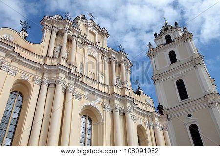 St John's Church In Vilnius University, Vilnius, Lithuania.