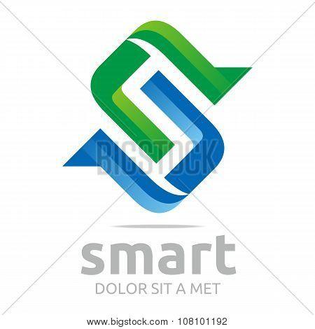 Logo Lettering S vector