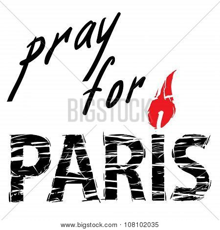 Paris and candle for a prayer