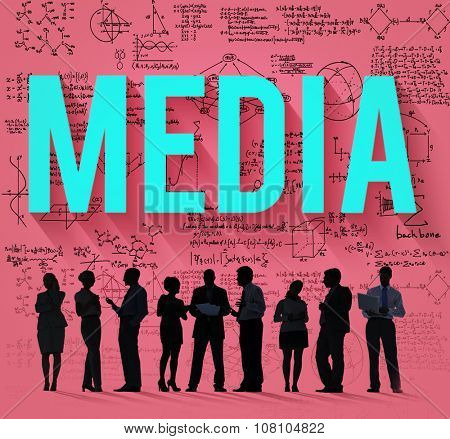 Media Sharing Technology Networking Connection Concept
