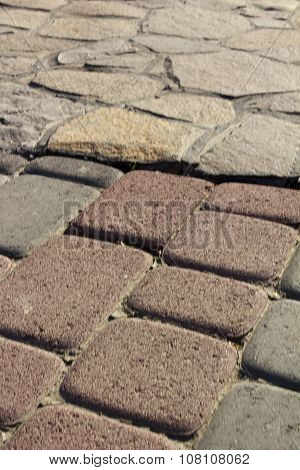 Garden Paths Decorative Bricks And Natural Stone