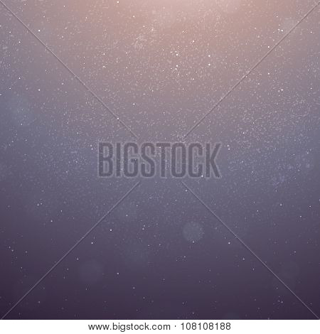 Vector Abstract Background with Particles in the Sunlight