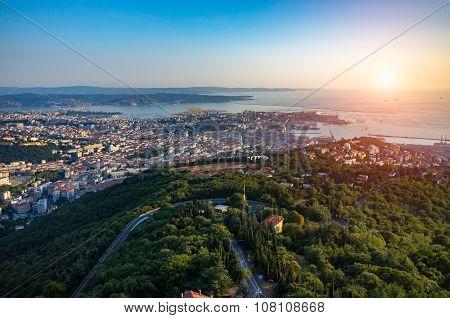 Sunset Over Trieste