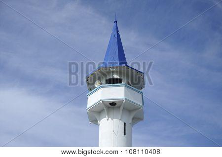 Minaret of Masjid Jamek Bandar Mersing