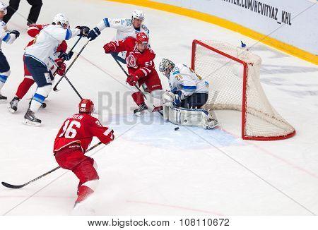 E. Voronkov (59) Attack A. Ivanov (28)