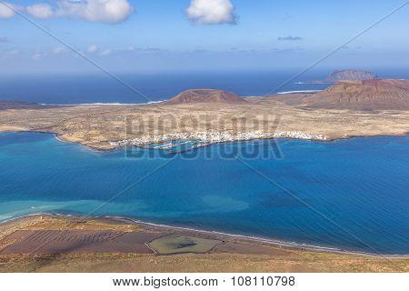 La Graciosa Island, Lanzarote, Spain