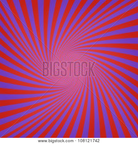 Blue red abstract spiral background design