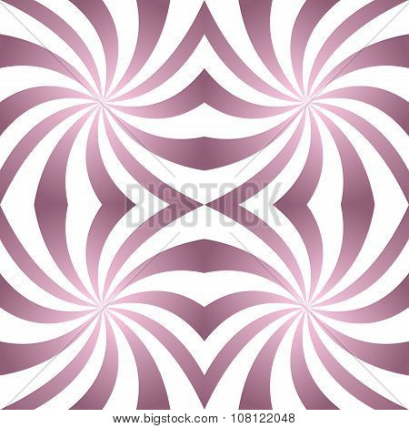 Vintage twisted pattern background