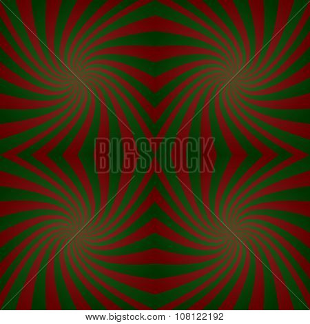 Green maroon twisted background