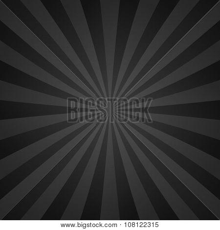 Dark grey ray background