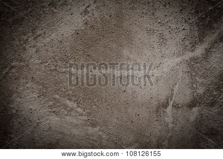 Black Wall Textured Background