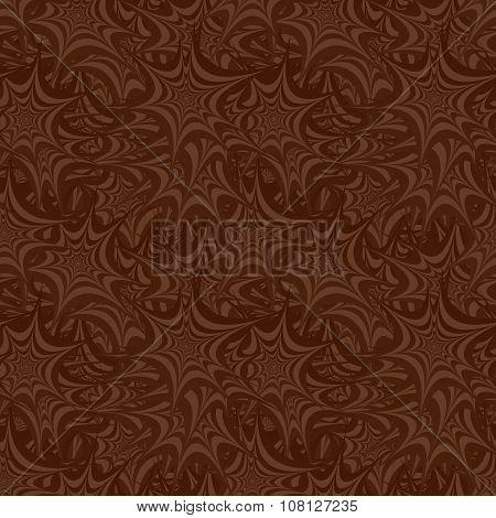 Brown seamless asymmetric star pattern background
