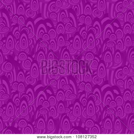 Purple seamless oval shape pattern background