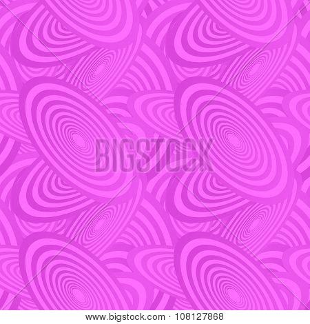Magenta seamless ellipse pattern background