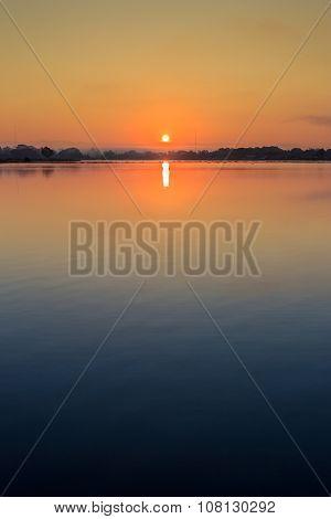 Phayao Lake In Morning
