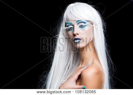 Sensual Winter Woman
