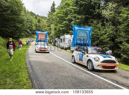 Ibis Budget Hotels Caravan - Tour De France 2014